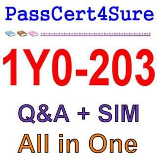 Citrix XenApp and XenDesktop 7.15 Administration 1Y0-203 Exam Q&A PDF+SIM