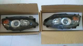 Subaru Wrx Sti十代黑底大燈