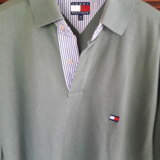 TOMMY HILFIGER SHIRT.MADE IN INDONESIA