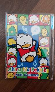 Sanrio Ahiru No Pekkle 2008 datebook