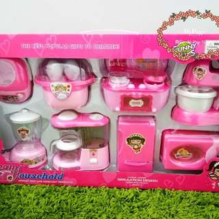 Girl's cooking set
