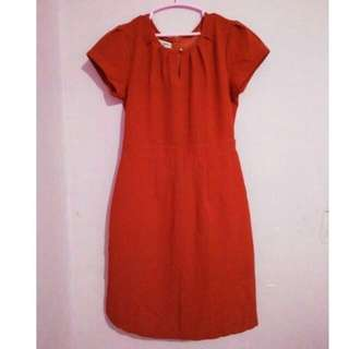 RePrice for Ramadhan Ann Design Mini Dress Red