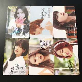 A15*Apink Yescard YES卡簽名咭SET