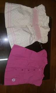 3-9mos blouses / dresses for your princess