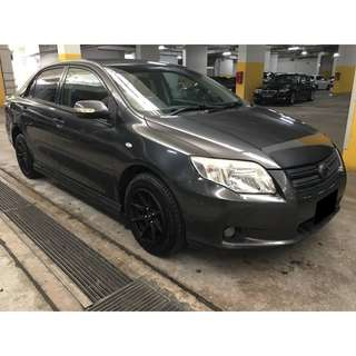 26/05/2018 - 28/05/2018 TOYOTA AXIO MANUAL ONLY $110 (P PLATE WELCOME)