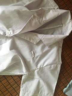NUS COOP lab coat short sleeve and Long sleeve
