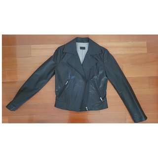 Genuine Leather Black Jacket