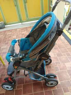 Baby 1st stroller light blue