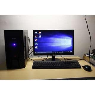 Desktop Computer Intel G3240 3.10 GHz LGA1150 4GB 500GB 18.5LED