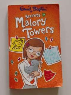 Secret at Malory Towers - Enid Blyton