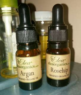 Organic Rosehip Oil dan Argan Oil by Elea Organics