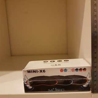 mini-x6 藍芽喇叭