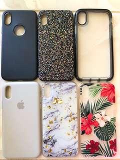 Iphone X bundle of 6 cases