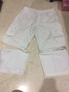 White Short Man Detachable