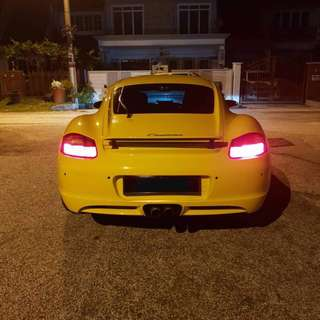Porsche Cayman for rental!