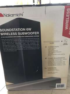 Nakamichi 2.1ch speaker