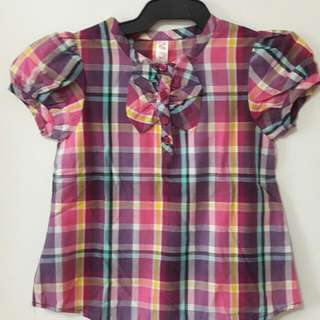 Cherokee Plaid top