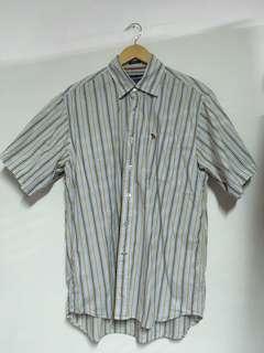 🚚 Abercrombie 男款襯衫 條紋 XL