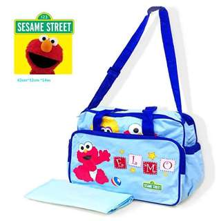 Elmo diaper bag