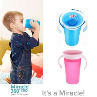 Baby miracle trainer cup