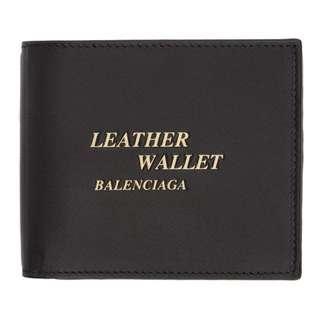 BALENCIAGA Billfold Wallet 巴黎世家 銀包