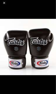 Fairtex Muay Thai gloves BVG1 BRAND NEW