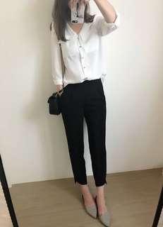 正韓 版型絕美西裝褲