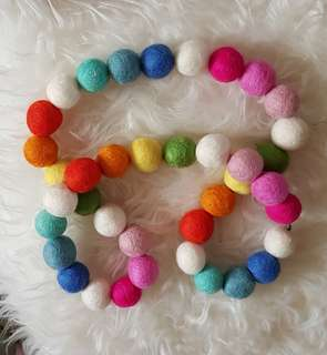Garlands Natural Wool!