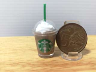 Dollhouse Miniature : A cup of starbuck float