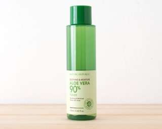 Nature Republic's Aloe Vera Soothing & Moisture Toner