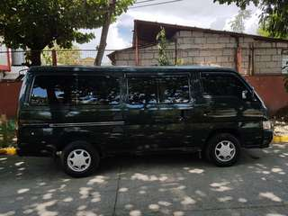 Low Mileage Nissan Urvan 2013