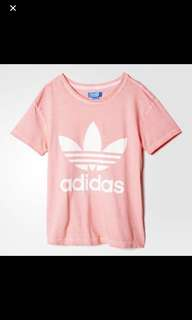 Authentic Adidas Pink Tee