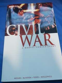 Marvel Civil War Paperback