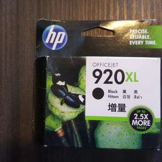 New HP 920 XL Black and Color (Cyan, Magenta and Yellow) Catridges