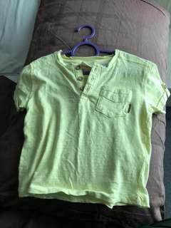 Zara baby boy shirt top