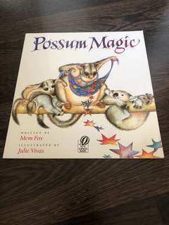 Possum magic by Mem Fox children's book