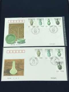 China Stamp- 1998-22 A/B FDC