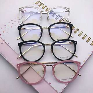 Frame kacamata minus murah lensa anti radiasi wanita linda farrow 221 b60ba34922