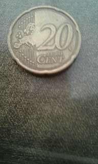 20 EUROPEAN CENT
