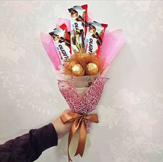 Customised Chocolate Bouquet