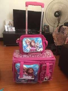 Frozen Stroller / Trolley Bag