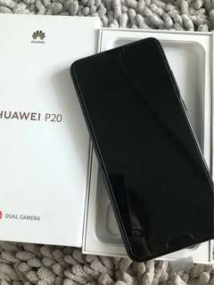 Huawei P20 (used 10 days)
