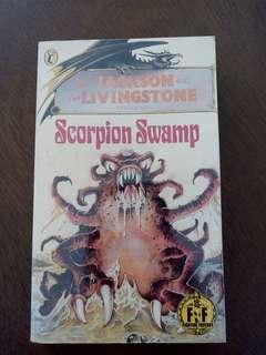 Fighting Fantasy Gamebook Scorpion Swamp