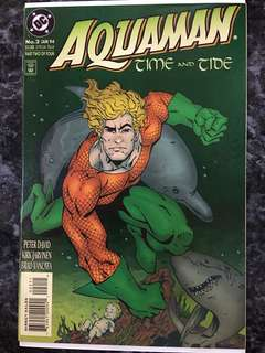 AQUAMAN #2 TIME & TIDE