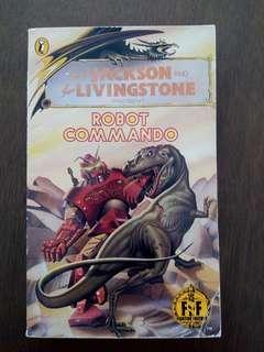 Fighting Fantasy Gamebook Robot Commando