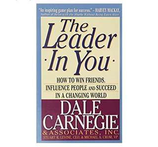 The Leader In You by Dale Carnegie (incl mailing worth $1.70)