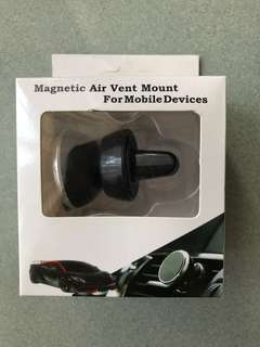 Magnetic Air Vent Mount 汽車手機磁石固定架