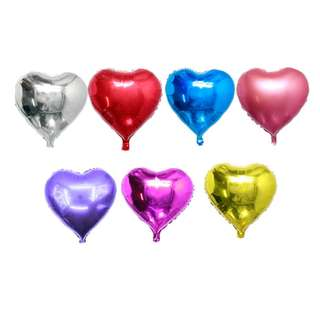 ❤️ Heart Shaped Party Balloons (25cm)