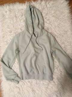 Mint green Garage hoodie