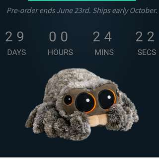 PREORDER Lucas the Spider Limited Edition Plushie/Plush toy/Stuffed toy